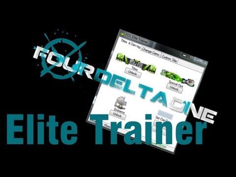Four Delta One Elite Trainer: Eigene Titel und Elite Titel freischalten Tutorial [HD] - TutorialChannel