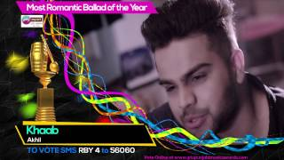 Most Romantic Ballad of the Year | Nominations | PTC Punjabi Music Awards 2017 | 23 March