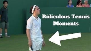 HD Ridiculous Tennis Moments (Djokovic,Nadal,Federer,Ivanovic,Murray,Monfils)