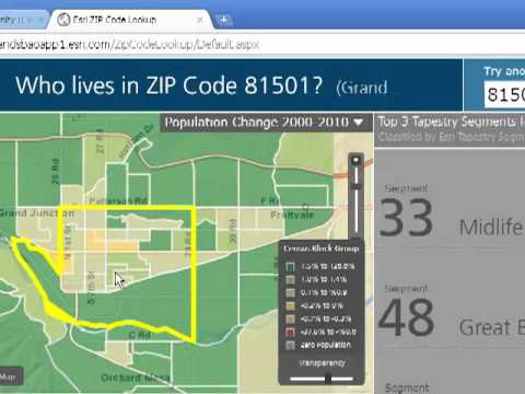 Using the Esri Zip Code Neighborhood Mapping and Analysis Tool in Education