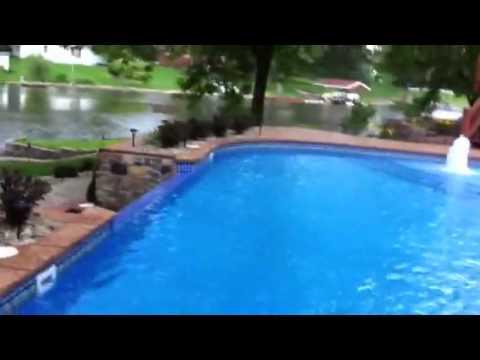 Custom Vinly Liner Infinity Edge Pool