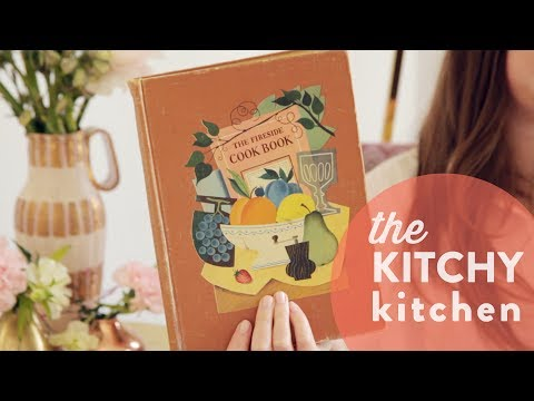 Vintage Cookbooks: The Fireside Cookbook // Up Close with Claire
