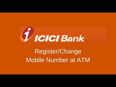 ICICI Bank Change/Register Mobile Number