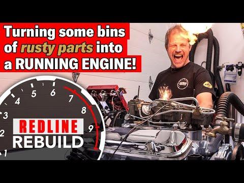 V-8 Engine Rebuild Time-lapse Pontiac GTO Tri-Power 389 | Redline Rebuild - S2E4