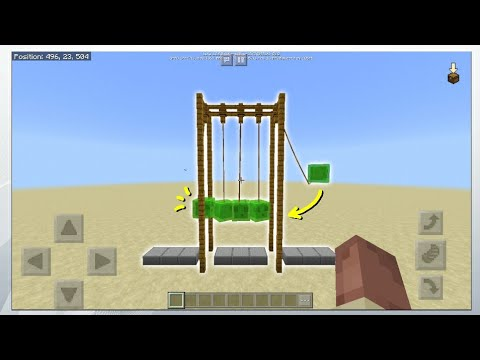 ✅ How To Make Realistic NEWTON'S CRADLE in Mcpe 1.2.6