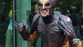 Wolverine Cosplayer Brings Back Old School Logan