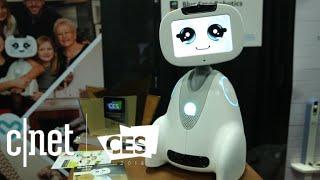 Meet Blue Frog Robotics Buddy: A smiling security bot at CES 2018