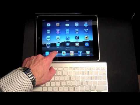 Apple iPad: Using an Apple Wireless Keyboard