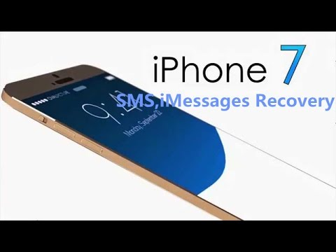 How to Recover Deleted SMS,iMessages from iPhone 7/iPhone 7 Plus