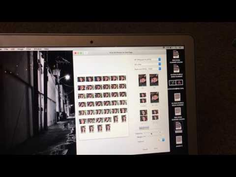 HOW TO MAKE CONTACT SHEET IN IPHOTO ON MAC, how to save a contact sheet in iPhoto!