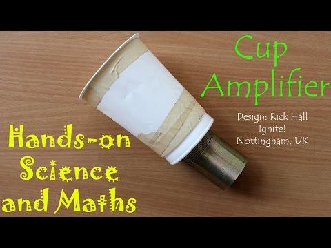 Cup Amplifier | Kannada