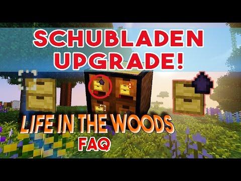 LIFE IN THE WOODS Schubladen Upgrades! Füllstand und mehr Platz - Minecraft FAQ