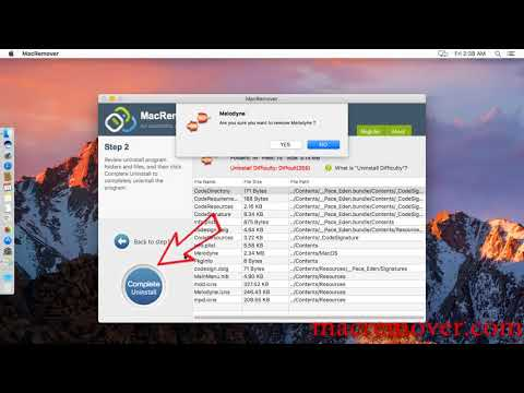 How to remove Melodyne on your macOS and Mac OS X?