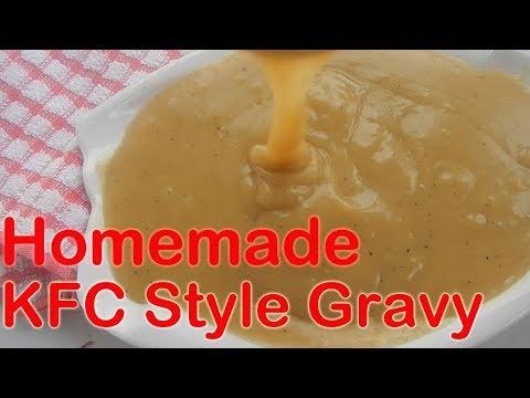 Homemade KFC Style Gravy