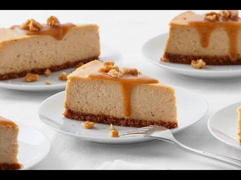 Spiced Maple-Walnut Cheesecake