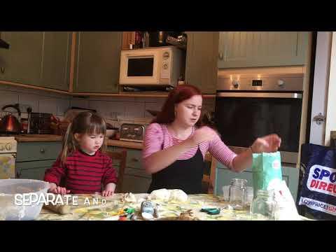 How to make salt dough fossils!