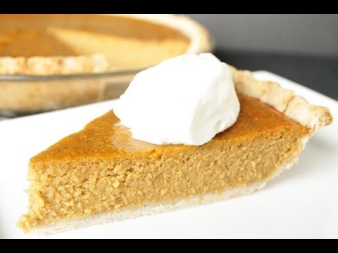 Pumpkin Pie: From a Pumpkin to Pie