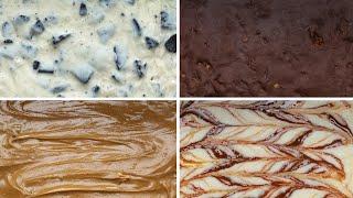3-Ingredient Fudge 4 Ways