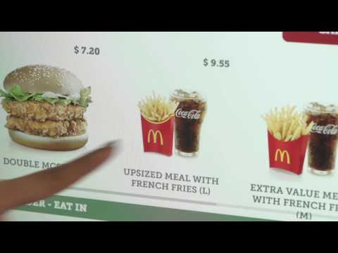A New Way to Order using McDonald's® Self-Ordering Kiosk