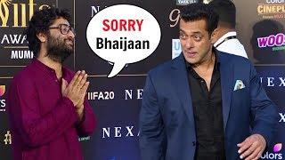 Arijit Singh Says SORRY To Salman Khan At IIFA Awards 2019