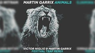 Martin Garrix - Animals (Victor Niglio & Martin Garrix Festival Trap Remix) - [Perfect Bass Boost]
