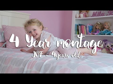 Mila Rose | From IVF to 4 years old