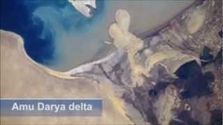 """The shrinking of the Aral Sea -  """"One of the planet"""