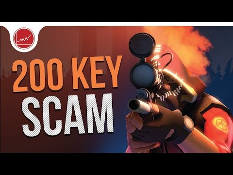 [TF2] My Scam Story: How I Almost Lost Over 200 Keys
