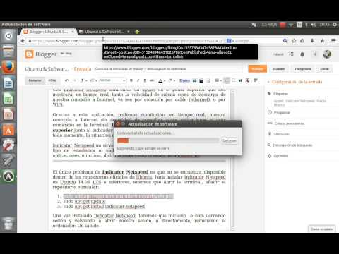 Indicator Netspeed en Ubuntu 14.04 LTS