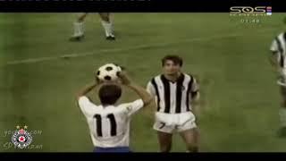 Sećanja ● Hajduk Split 🇭🇷 - Partizan 🇷🇸 3:3 ● 26.08.1984