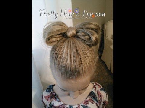 How to: Hair Bow Hairstyle Tutorial | Pretty Hair is Fun