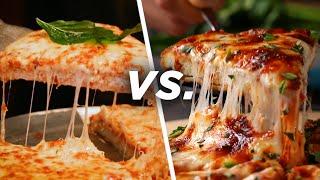 Restaurant Vs. Homemade Chicken Parm Pizza