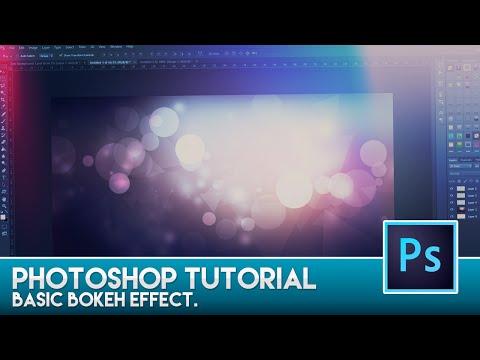 Photoshop Tutorial - Basic Bokeh Effect