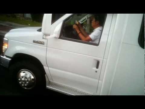 Texting Bus Driver CP86392 American Tour Inc.