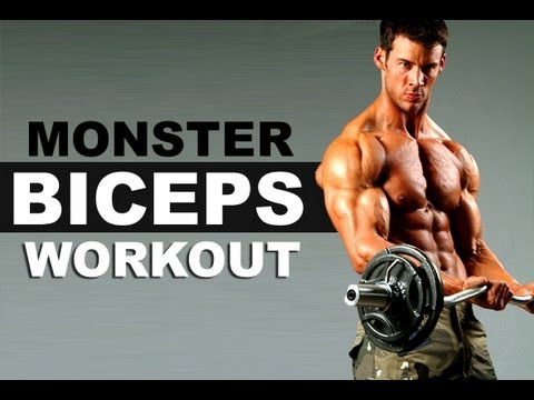 Monster Biceps Workout : Build Sleeve-Busting Biceps FAST!