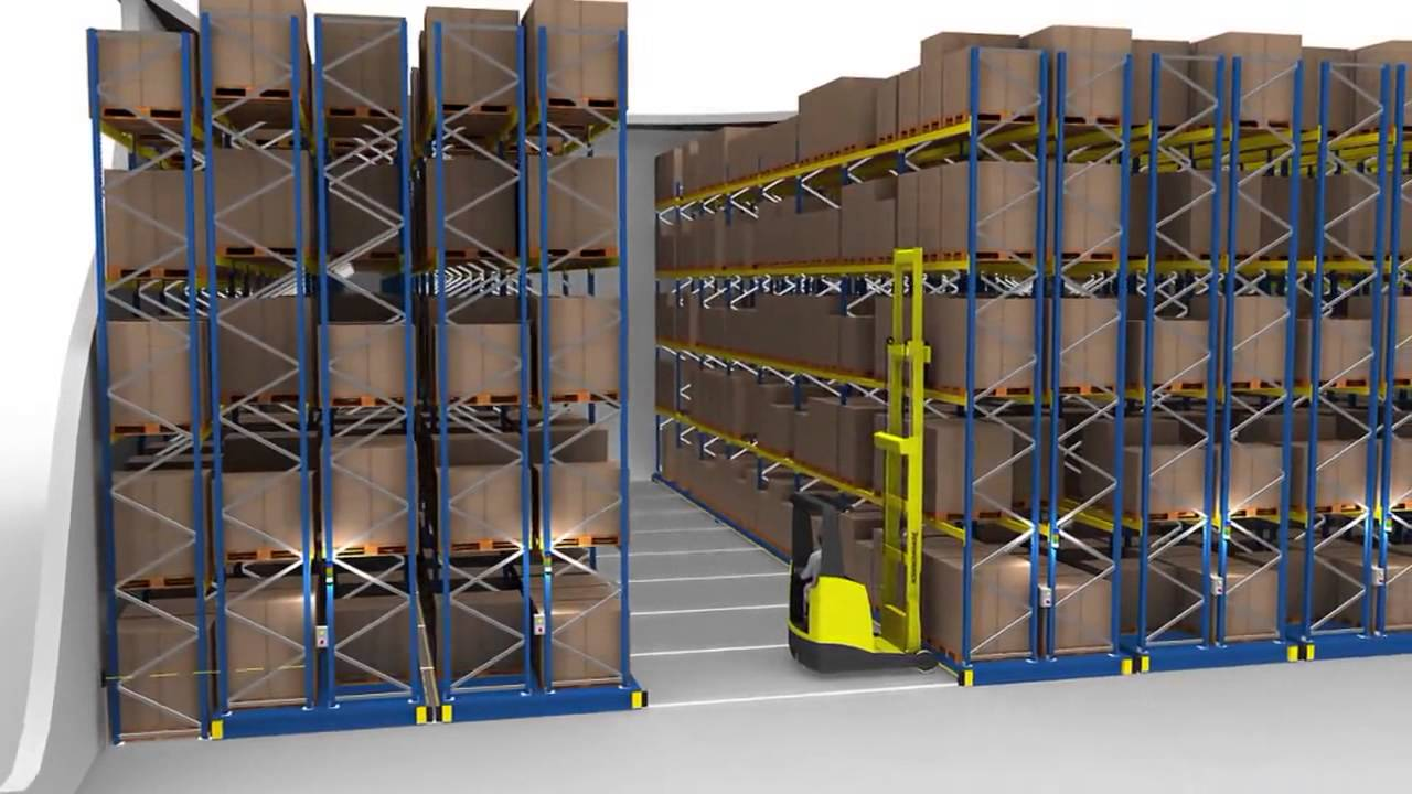 Jungheinrich Mobile Racking Systems