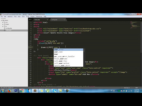PHP: MySQL (PDO)  How to insert images and data to database MYSQL SERVER
