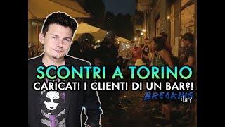 Cosa è successo a Torino tra polizia, centri sociali e clienti di un bar