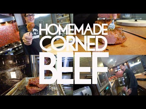 How to Make an Easy Corned Beef at Home | SAM THE COOKING GUY