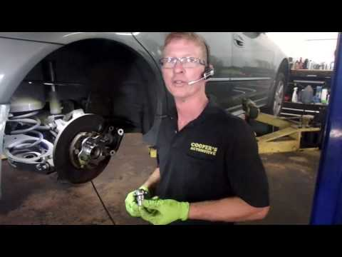 2003 Nissan Altima   How To Replace A Wheel Bearing