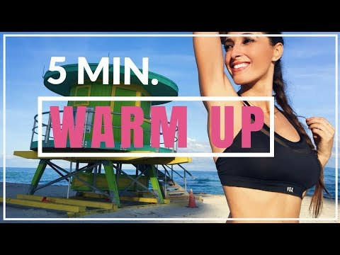 Easy 5 Minute Warm Up Workout Before Exercising  | Susana Yábar Warm Up Workout