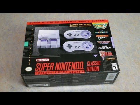 Super Nintendo Classic Unboxing!!! (Finally Got Mine)