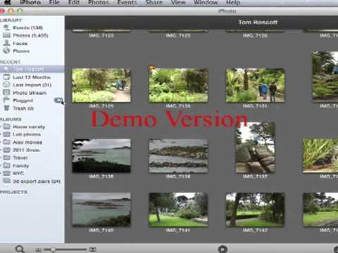 Error in iPhoto flagging photos