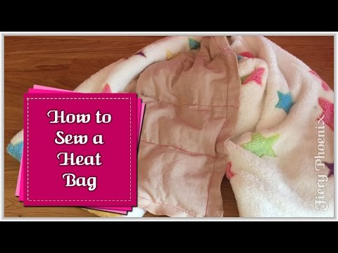 How to Make a Heat Bag :: by Babs at Fiery Phoenix