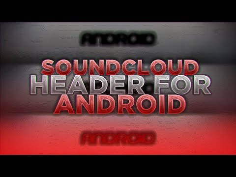 Soundcloud Banner Speedart For Android (READ DESRIPTION)