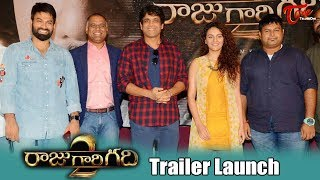 Raju Gari Gadhi 2 Trailer Launch | Nagarjuna, Samantha, Ashwin Babu, Seerat Kapoor