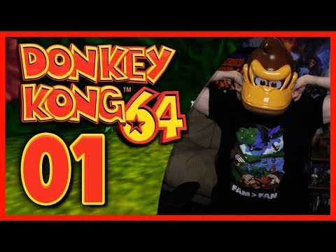 Donkey Kong 64 100% LIVE Let's Play: GOLDEN BANANA