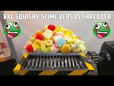 Shredding XXL 150 Squishy Slime | Transforms in Squishy Bouncing Ball