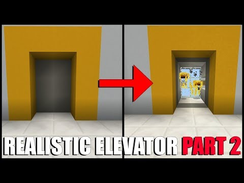 How To Make a MULTI Floor Elevator in Minecraft Part 2 (Command Block)