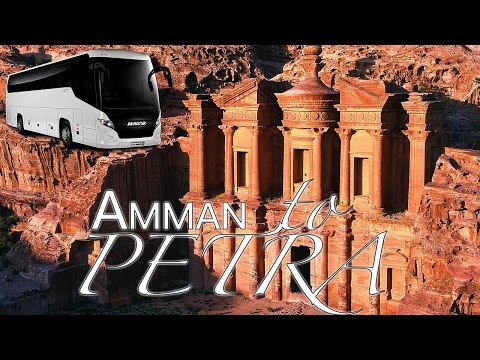 How to get from Amman to Petra by Bus
